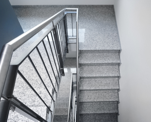 neubau-fluesseviertel-verden-Treppenhaus